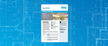 Spangrid Ceiling Panel Product Data Sheet