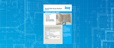Wet Area Sealant Product Data Sheet