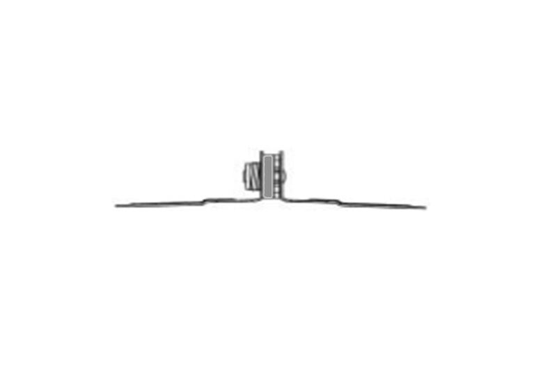 Clip Acoustics Ac001 Ch Clip Chase Wall Mount