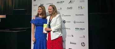 Natasha Mulcahy wins Women in Sustainability award
