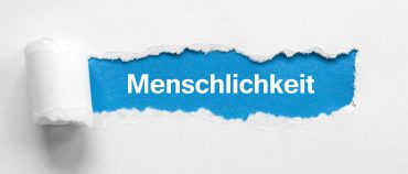 Do you know what 'menschlichkeit' means?