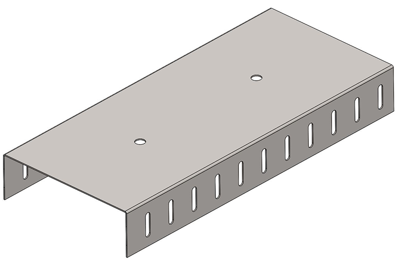 Knauf Metal 150 Slotted DH Track