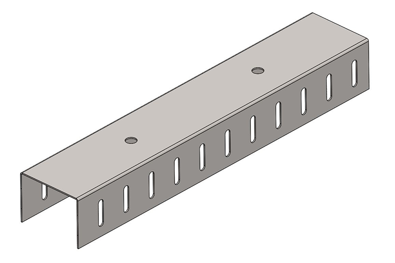 Knauf Metal 64 Slotted DH Track