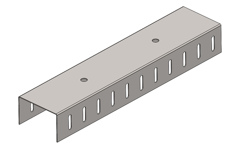 Knauf Metal 76 Slotted DH Track