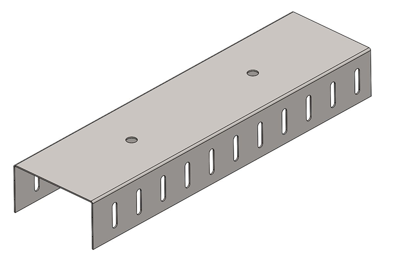 Knauf Metal 92 Slotted DH Track