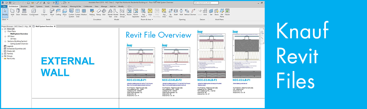 Knauf Revit Files