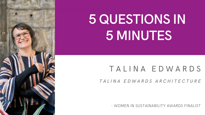 5 Questions in 5 Minutes: Talina Edwards