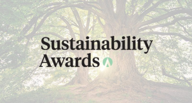 Sustainability Awards: Finalists announced
